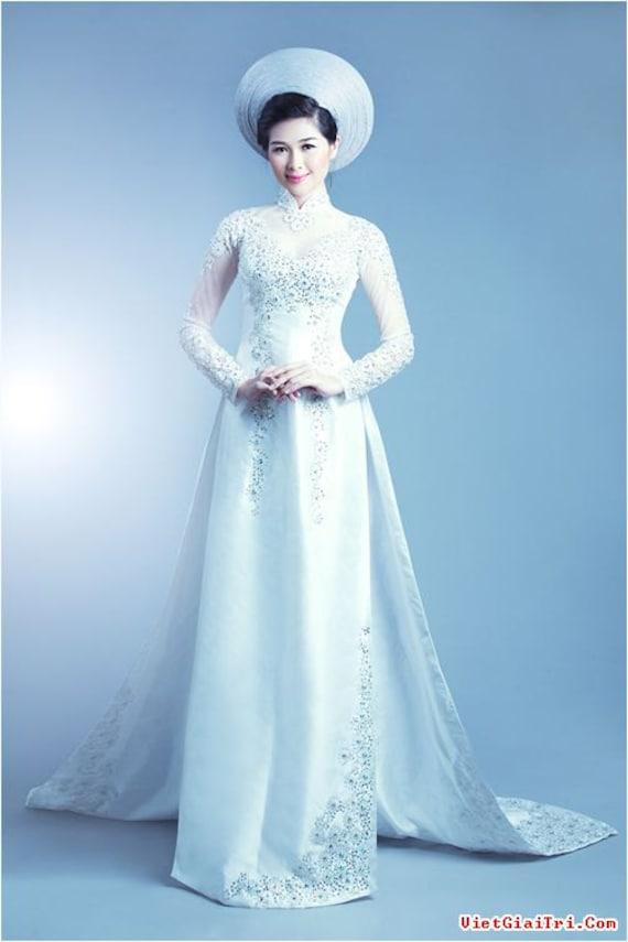Wedding Dresses  Vietnam : Vietnam traditional dress ao ba viet nam nhan dat by
