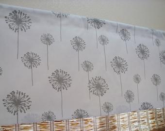 Premier Print Dandelion Curtain Valance Kitchen Valance 52x12 52x14 52X16 52X18