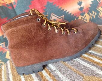 Vintage Pivetta leather boots, ladies, 7.5
