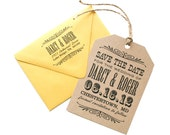 Wedding Save The Date Tag - Hamilton