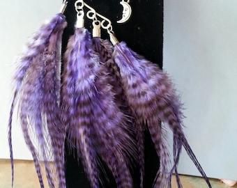 Beautiful, Fantasy Feather Ear Cuff/Boho/Gypsy