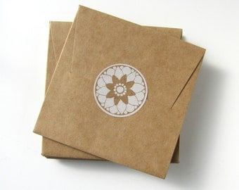 CD Sleeves, Kraft CD Favor Boxes from Kiwi Tini Creations on Etsy, cd package, cd envelope