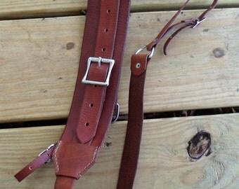 Handcrafted Leather Camera Shoulder Strap