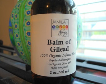 Balm of Gilead Infused Massage/Spot Oil - Balsam Poplar, Cotton Wood, Organic Olive Oil - Resinous Sweet Aroma, Balm in A Bottle, Healing