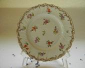 4 DRESDEN PLATES, Antique Richard Klemm Plates