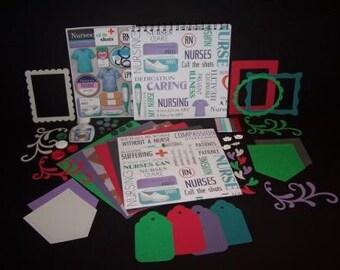 Nursing 8x8 Scrapbook Kit