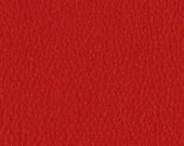 Quality Leather Look Upholstery Fabric -Faux Leather for upholstery- Home and Automobile-Color: Garnet -Simulated Leather-Contract Rated