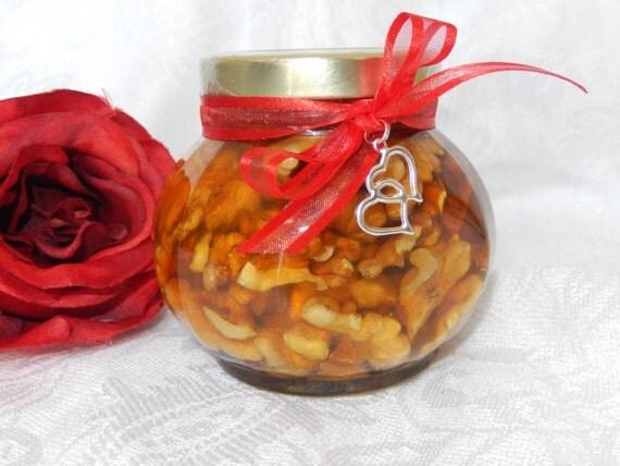 Natural Honey Gift, Walnuts In Honey