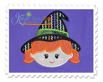 Witch Applique
