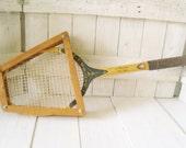 Vintage tennis racket racquet wooden Blackstreak 1960s