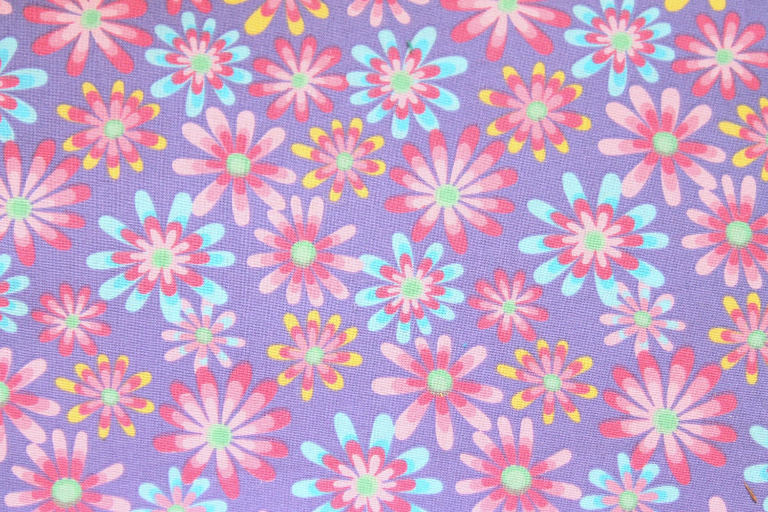 Lilac flower fabric for mdg fabrics lilac by jacobandchloesllc for Fabric by the yard near me