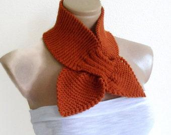 neckwarmer, scarf, Headband, knitting, Holiday , Accessories, valentines day, gift, fashion scarf, Mahogany