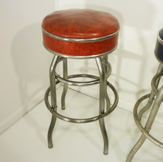 Retro 50s Vintage Cosco Bar Stool Two Available