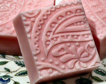 Paisley Pink Soap