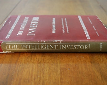Book - The Intelligent Investor - First Edition - by Benjamin Graham - 1951 c-a - Stock Market Investing - Warren Buffett Favorite