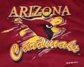 Vintage Arizona Cardinals Crew Neck Sweatshirt