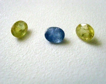 Clearance 1ct Mixed Sapphire Gemstones