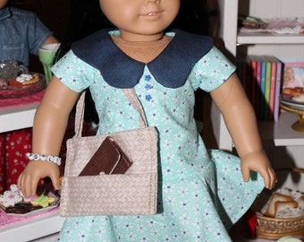 American Girl Keeper's Dolly Duds 1970's dress, purse, and MORE!!