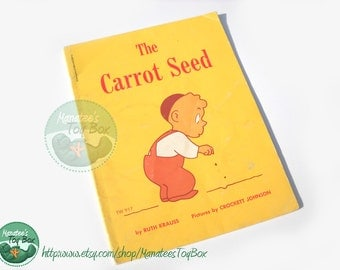 The Carrot Seed: Vintage Childrens Book