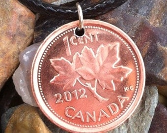 2012 Last Canadian Penny Necklace