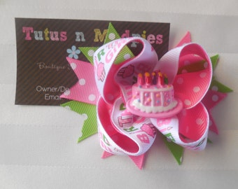 Layered Birthday Bow
