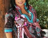 cowgirl corsage-baby shower-mum-western mum