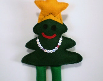 Christmas Tree Doll - OOAK