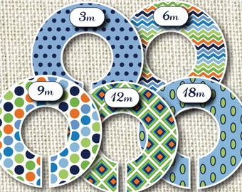Baby Closet Dividers - IstanBlue