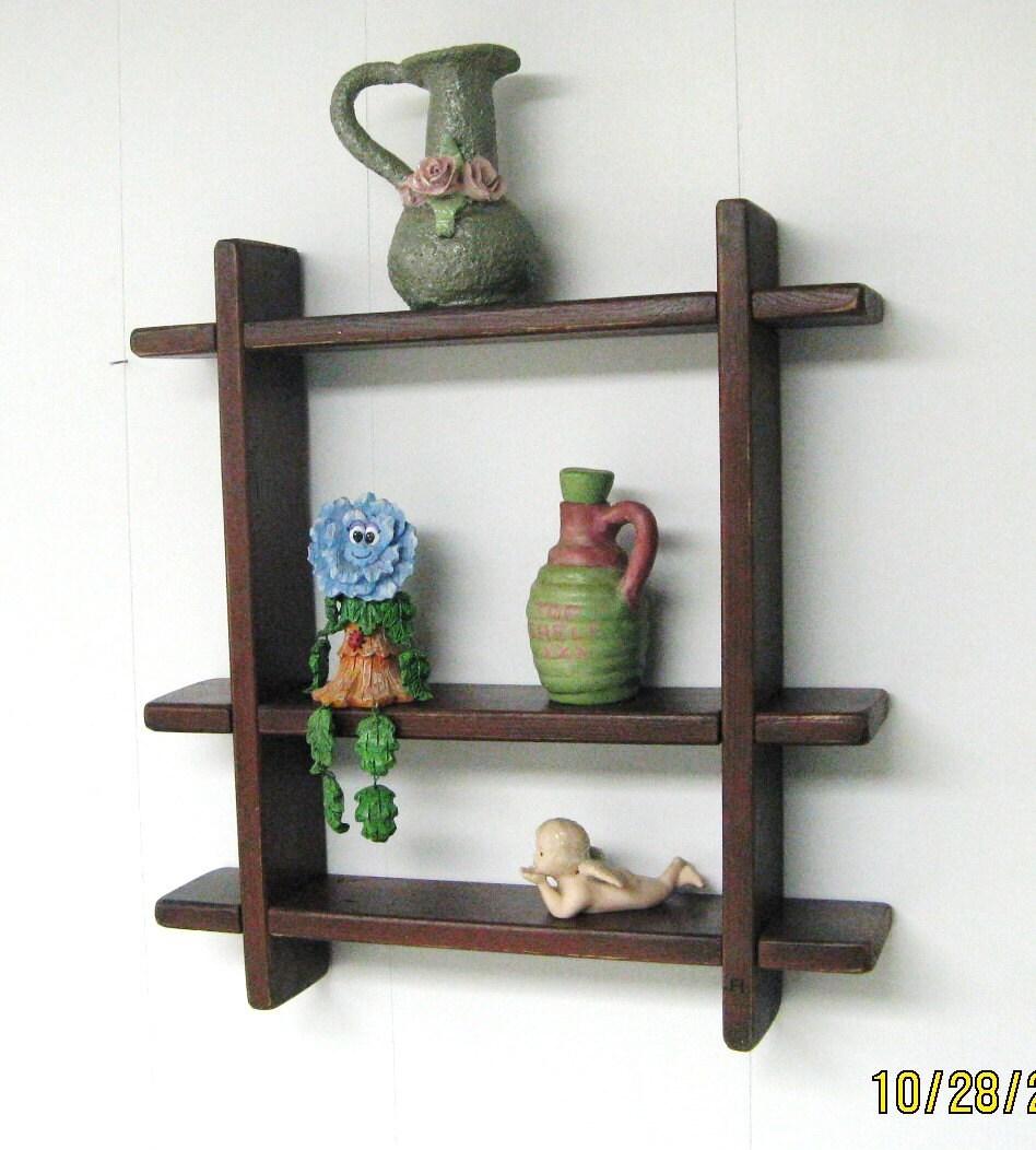 Interlocking Wall Shelves 17 By 21 Display Shelf