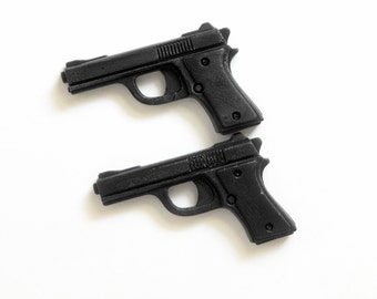 Gun Soap - Set of 2 - Gifts for Police Officer, Gift For Him, Gifts For Men, Gifts For Dad