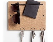 The Blokkey in Wheat Board with Black Bungee. A brilliant, compact, all in one organizer.
