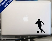 Soccer Guy Decal - Sticker for Laptop, Car, iPhone