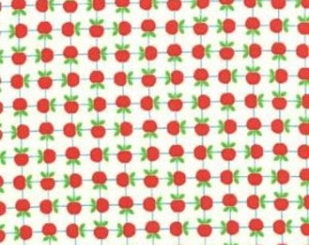 Apple Jack - Ivory Apples Cotton Print Fabric  by Tim and Beck from Moda
