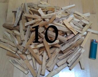 Palo Santo Sticks, 2 oz, Herbal Incense, Palo Santo Holy Wood For Smudging, Burning, Tea, Gifting