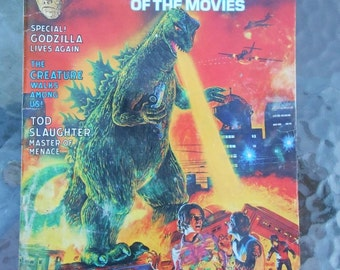 Monsters of the Movies Issue 5 1975 Godzilla Cover