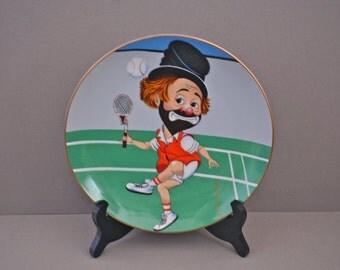 Love That Freddie Collectors Plate #119 By Red Skelton 1981