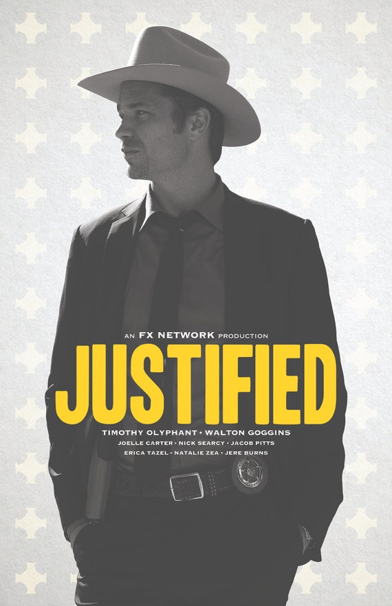 Justified TV Poster (#8 of 12) - IMP Awards