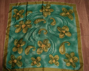 1960s headscarf with great print