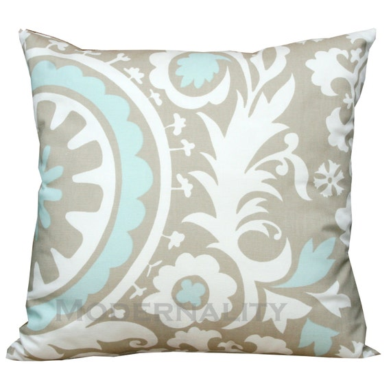 Powder Blue Decorative Pillows : Accent Pillows Premier Prints Powder Blue by ModernalityHomeDecor