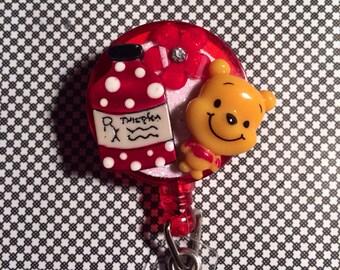Retractable ID Badge Reel  Nurse Poo