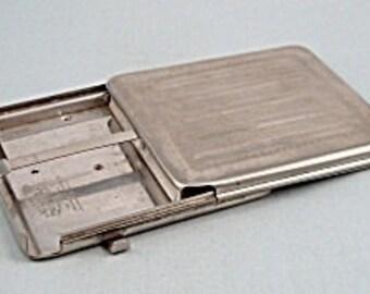 1926 LYMCO trademark ejector cigarette compact case