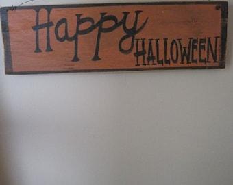 Happy Halloween, halloween decor, primitive
