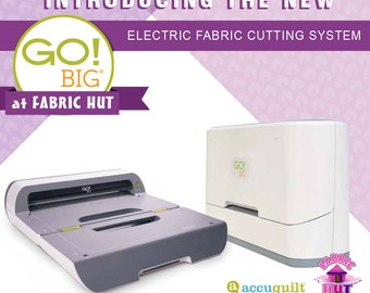 55500- Accuquilt GO! Big Electric Fabric Cutter