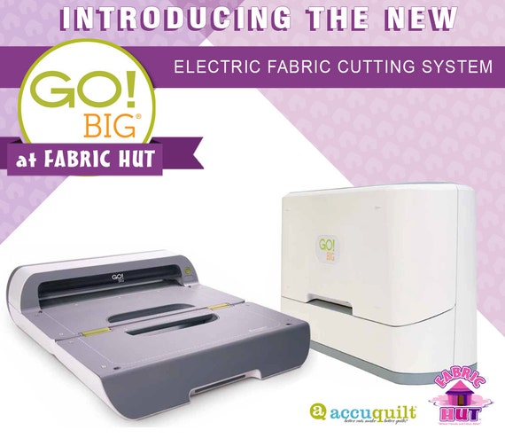55500 Accuquilt Go Big Electric Fabric Cutter From