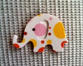 100 White with colored bubles  Modern Elephant Decor  Baby Shower Confetti, Birthday party ,scrapbooking, cards  cs