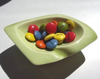 Modern Vintage  Spring Green Dish