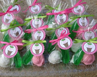 50 PICKLES and ICE CREAM Soaps {25 Favors} -  Great for a Craving Themed Baby Shower, Pickle Soap, Ice Cream Scoop Soap