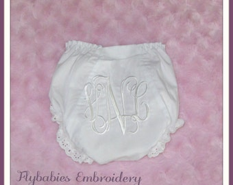 Personalized Baby Bloomers / Personalized Diaper Cover / Monogrammed Diaper Cover