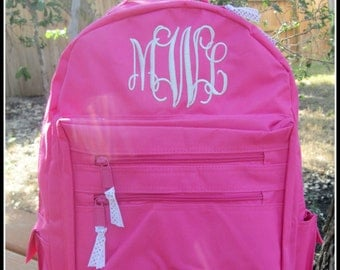 Personalized Backpack - Personalized Book Bag - Quick Shipping