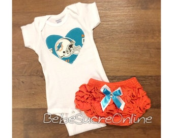 Miami Dolphins Girls Outfit